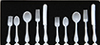 CB060 - White Flatware, 10 Pieces
