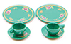 CB065G - Dinnerware Set-Green