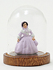 CB094 - Figurine Under Glass Dome, 1 Piece, Assorted Colors