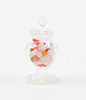CB106 - Fluted Glass Apothecary Candy Jar