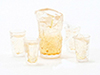 CB167 - Lemonade Set Of Pitcher W/4 Glasses