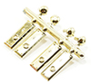 CB2724 - Door Hardware Gold 4 Knobs/4 Plates