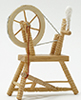 CLA00266 - Spinning Wheel, Unfinished