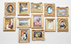 CLA00328 - Framed Masterpieces, 12/Pk