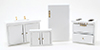 CLA03777 - Set/4 Kitchen, White
