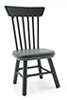 CLA04414 - Kitchen Chair, Black