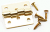 CLA05544 - Butt Hinges with Nails,Brass, 4/Pk