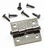 CLA05555 - Butt Hinges with Nails, Pewter, 4/Pk