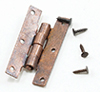 CLA05566 - H Hinges with Nails, Oil Rubbed Bronze, 4/Pk