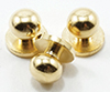 CLA05607 - Door Knob, Brass, 6/Pk