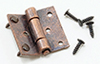 CLA05641 - Butt Hinges with Nails, Oil Rubbed Bronze, 4/Pk