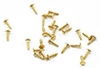 CLA05678 - Mini Nails, 3/32 Inch,Brass, 100/Pk
