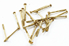 CLA05680 - Mini Nails, 3/8 Inch, Brass, 100/Pk