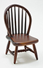 CLA07813 - Windsor Side Chair, Walnut