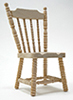 CLA08629 - Spindle Side Chair, Unfinished