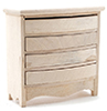 CLA08672 - Chest Of Drawers, Unfinished