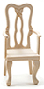 CLA08686 - Arm Chair, Unfinished