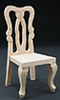 CLA08702 - Side Chair, Unfinished