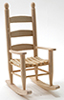 CLA08704 - Rocking Chair, Unfinished