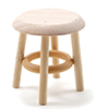 CLA08705 - Stool, Unfinished, 1-1/2 Inch