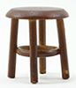 CLA10021 - Stool, Walnut, 1-1/2 Inch