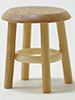 CLA10022 - Stool, Oak, 1-1/2 Inch