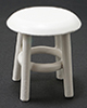 CLA10023 - Stool, White, 1-1/2 Inch