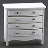 Chest Of Drawers, White  ()