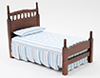 CLA10063 - Single Bed, Walnut