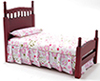 CLA10064 - Single Bed, Mahogany