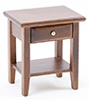 CLA10096 - Night Stand, Walnut