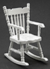 CLA10102 - Rocking Chair, White