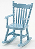CLA10104 - Rocking Chair, Soft Blue