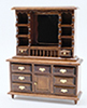 CLA10107 - Dresser With Mirror, Walnut
