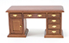CLA10118 - Desk, Walnut