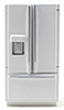 CLA10125 - Modern Refrigerator Bottom Freezer, White