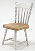 CLA10219 - Chair, Oak and White