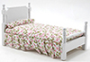 CLA10317 - Single Bed, White