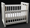 CLA10364 - Crib, White