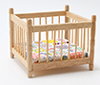 CLA10367 - Playpen, Oak