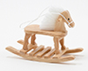 CLA10372 - Rocking Horse, Oak