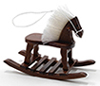 CLA10378 - +Rocking Horse, Walnut