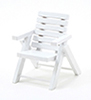 CLA10433 - Outdoor Chair, Wht Azm0356