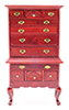 CLA10443 - Highboy, Mahog