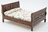 CLA10448 - Sleigh Bed, Walnut