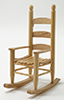 CLA10495 - Rocking Chair, Oak