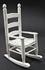CLA10496 - Rocking Chair, White