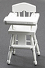 CLA10497 - High Chair, Wht