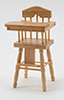 CLA10500 - High Chair, Oak