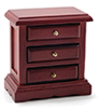 CLA10505 - Night Stand, Mahogany